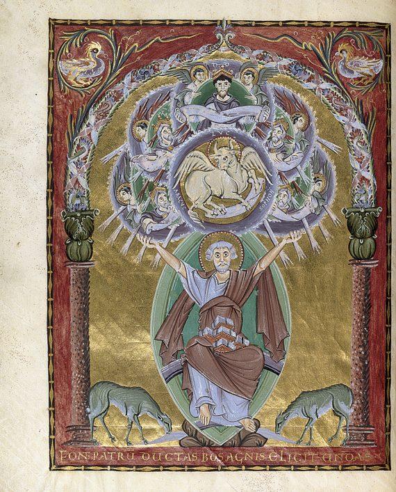 Evangeliario Otto III Lukas web