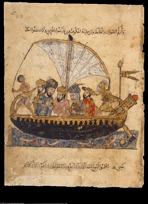 Abū Zayd y al-Harith en el Éufrates