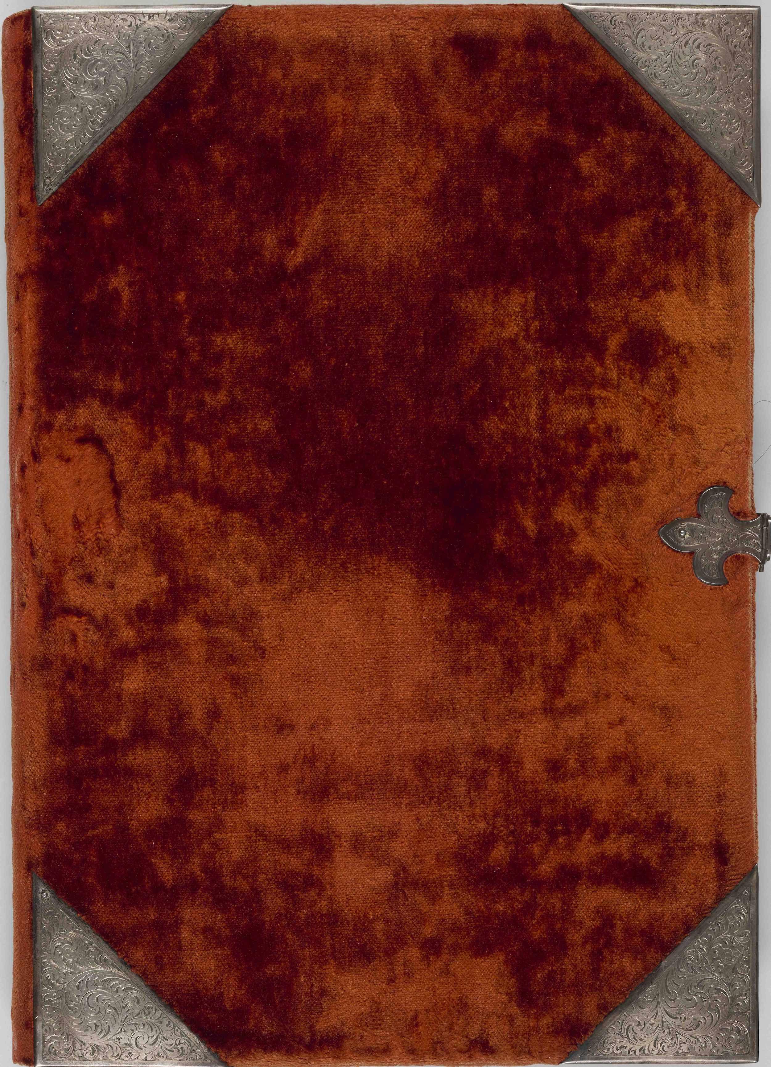 Cobertura original del manuscrito del Apocalipsis de Berry